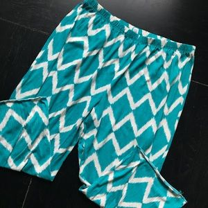 Jaclyn Smith Crop Pajama Pants